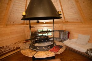 Indoor BBQ Hut