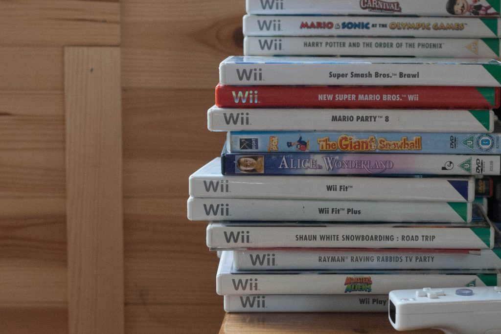 Games Room Wii games